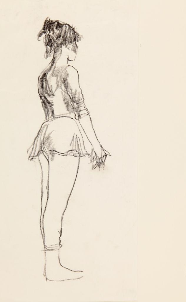 Donald Hamilton Fraser | standing dancer facing away