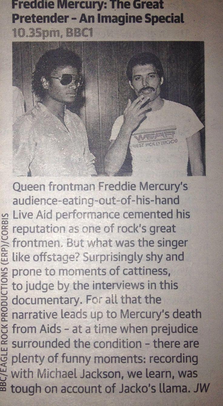 Freddie Mercury Funeral | Freddie Mercury Documentary 'The Great Pretender'