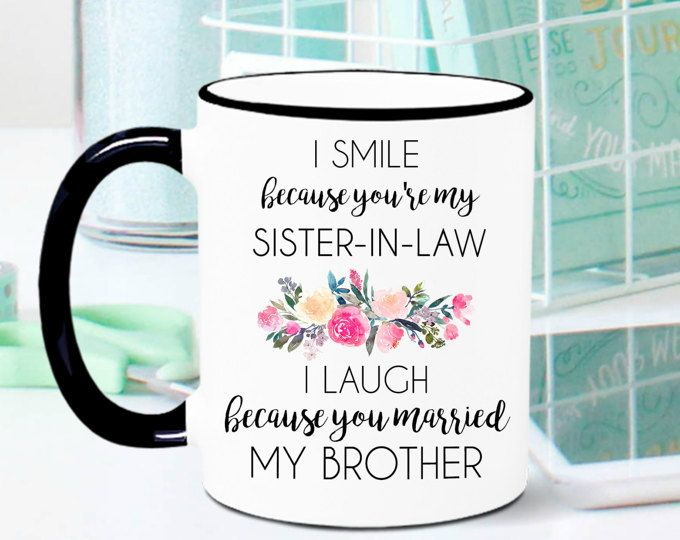 Wedding Gifts For Sister In Law: Best 25+ Sister In Law Ideas On Pinterest