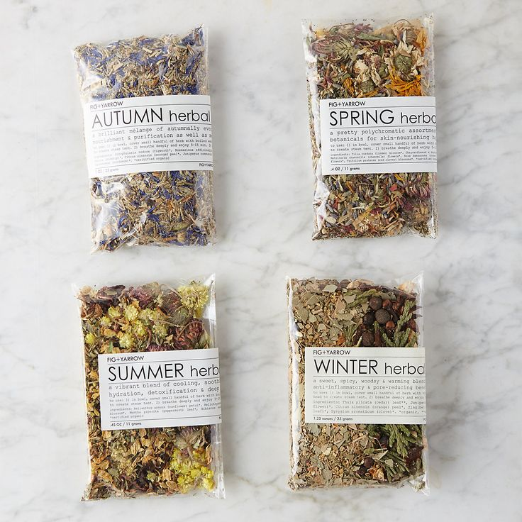 Sample a natural, botanical steam for every season with this collection from Fig + Yarrow. Each steam includes beneficial botanicals that cleanse pores, draw impurities, deeply hydrate, and detoxify.How to use: Add small handful of herbs to a bowl and cover with boiling water; allow to cool slightly and place towel over head to create steam tent. Breathe deeply and enjoy for 5-15 minutes. Add to a warm bath for a relaxing and nourishing soak.About Fig + Yarrow: Fig + Yarrow is an artisanal…