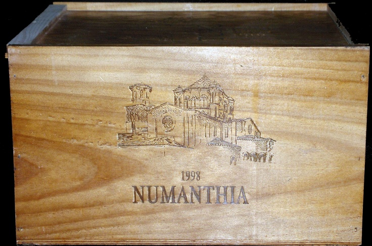 14 best wine crates images on pinterest wooden wine - Crate and barrel espana ...