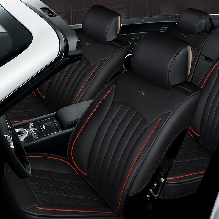 3D Styling Car Seat Cover For Ford Edge Escape Kuga Fusion Mondeo Ecosport Explorer Focus Fiesta,High-fiber Leather,Car-Covers
