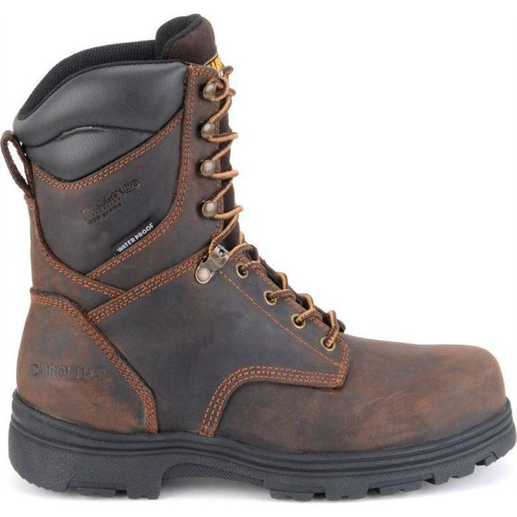 Carolina Men's 8 in. Steel Toe Waterproof Insulated Work Boot CA3534