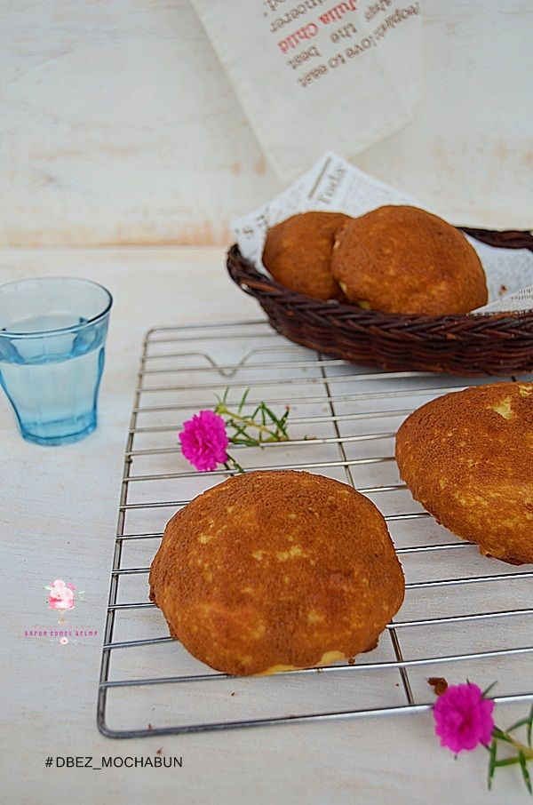 Dapur Comel Selma: Mocha Bun -- Roti Boy