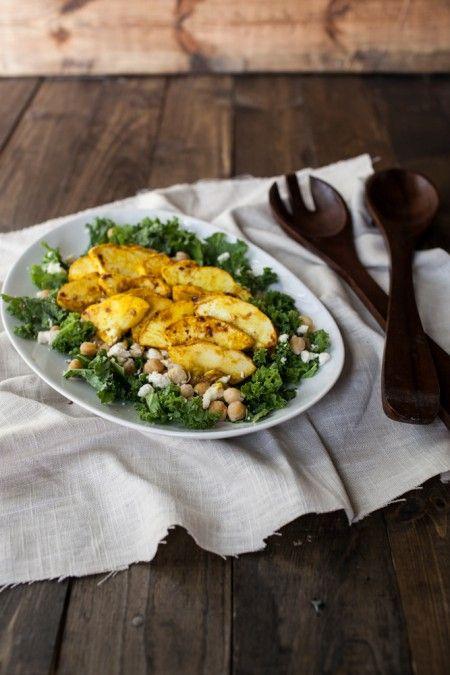 Curry Marinated Summer Squash Salad