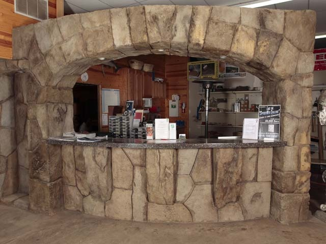 Decorative Indoor Rock Walls : Best images about vertical decorative concrete stone
