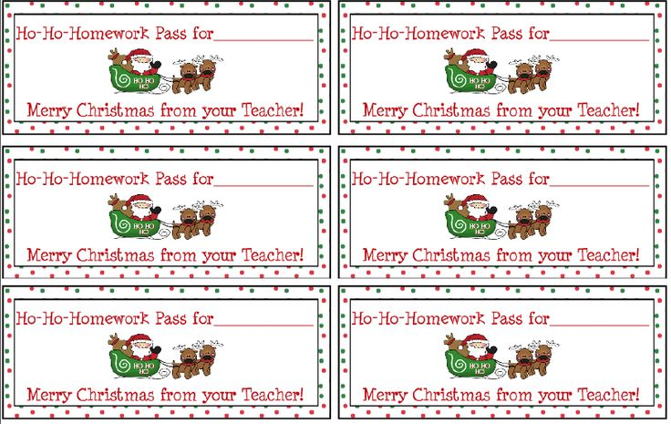 "FREE LESSON - ""Free Holiday Homework Passes"" - Go to The Best of Teacher Entrepreneurs for this and hundreds of free lessons.  1st - 8th Grade   #FreeLesson   #Christmas  http://www.thebestofteacherentrepreneurs.net/2013/12/free-misc-lesson-free-holiday-homework.html"