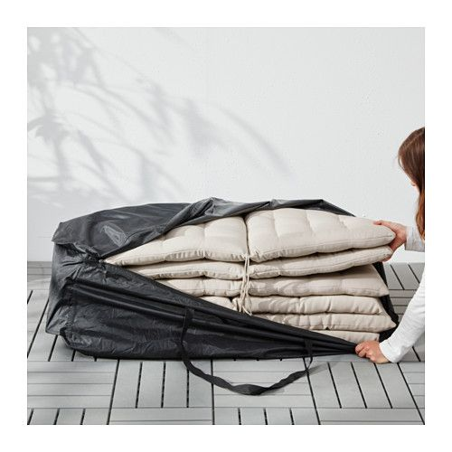 TOSTERÖ Storage bag for pads and cushions  - IKEA