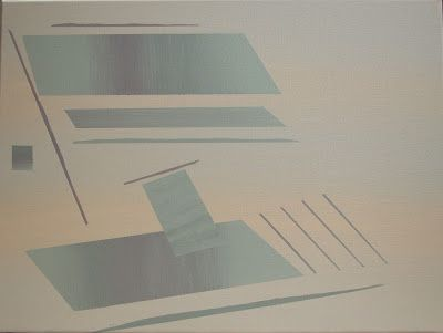 Will Light Johnson:                    Untitled Abstract Painting acry...