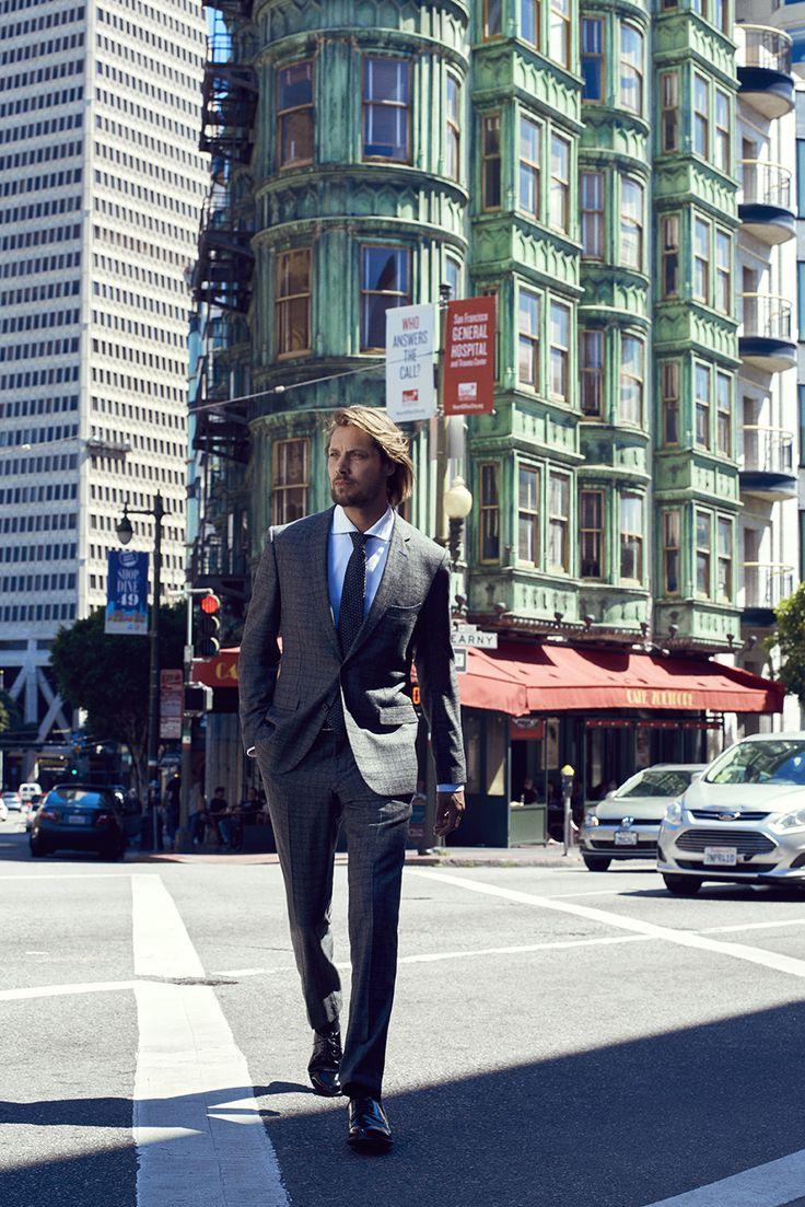 Cacharel 2016'17 Sonbahar/Kış #Cacharel #traveler #style #SanFrancisco #men #fashion #menstyle #gentleman #fall #winter #luxury #suit