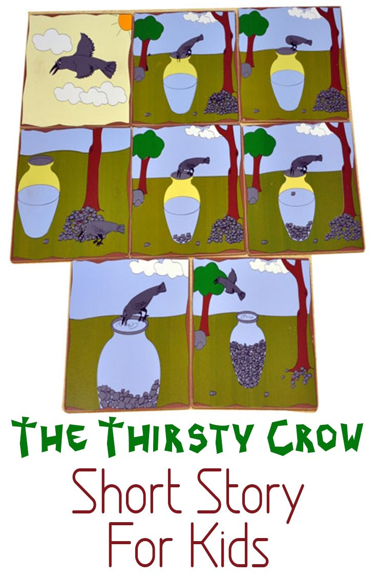 The Thirsty Crow Short Story For Kids