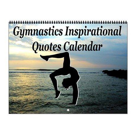 Gymnast Motivate Wall Calendar Inspire your awesome Gymnast to go for gold with our original and motivational Gymnastics Calendars. http://www.cafepress.com/sportsstar/10135150  #Gymnastics #Gymnast #WomensGymnastics #Gymnastgift #Lovegymnastics #Gymnastcalendar #Gymnasticscalendar
