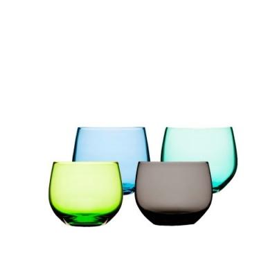 4 Szklanki Sagaform Spectra 350 ml, kolorowe