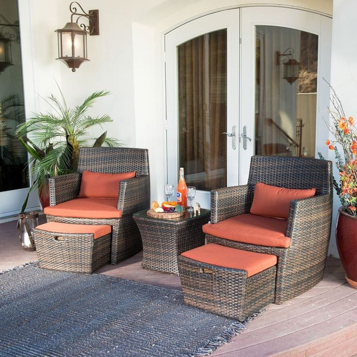 1000 Ideas About Resin Wicker Furniture On Pinterest