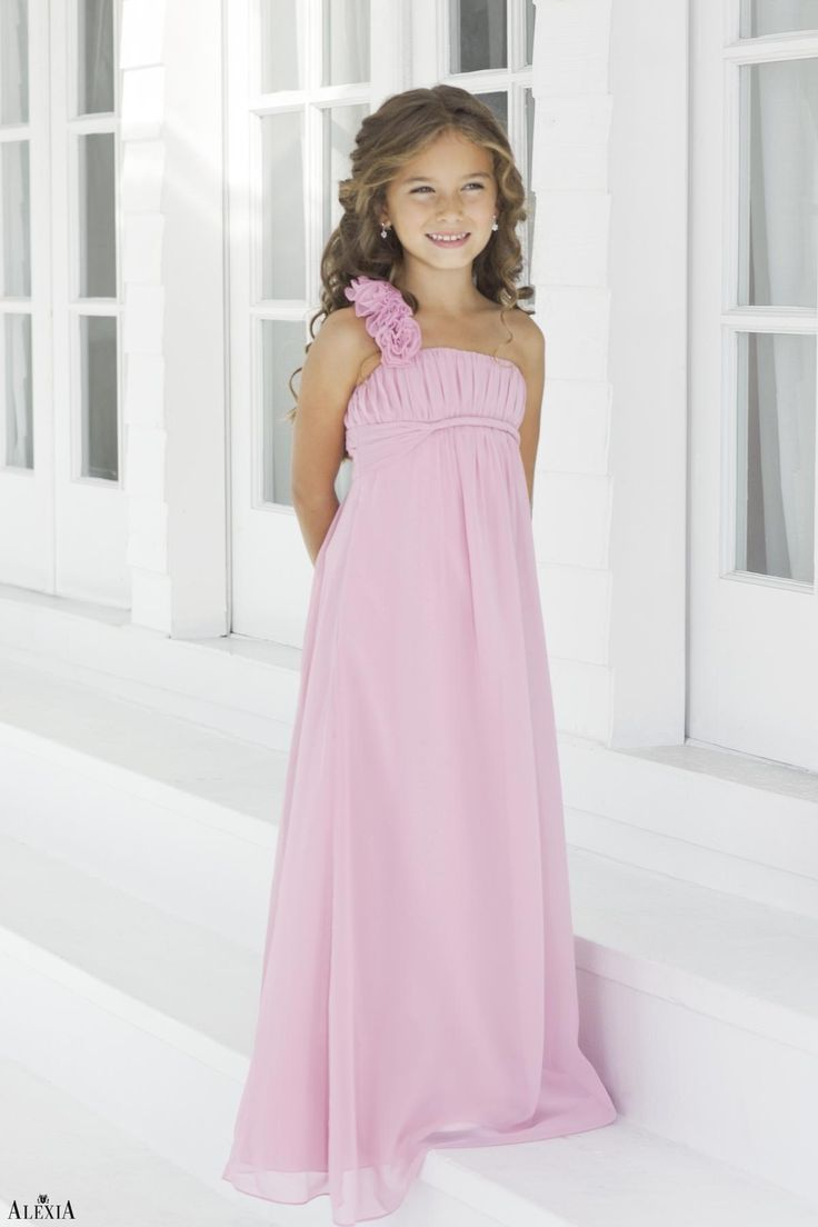 17 best junior bridesmaids dresses images on pinterest junior charmeuse pleatedstraps style 44 junior bridesmaid dress by alexia designs ombrellifo Image collections