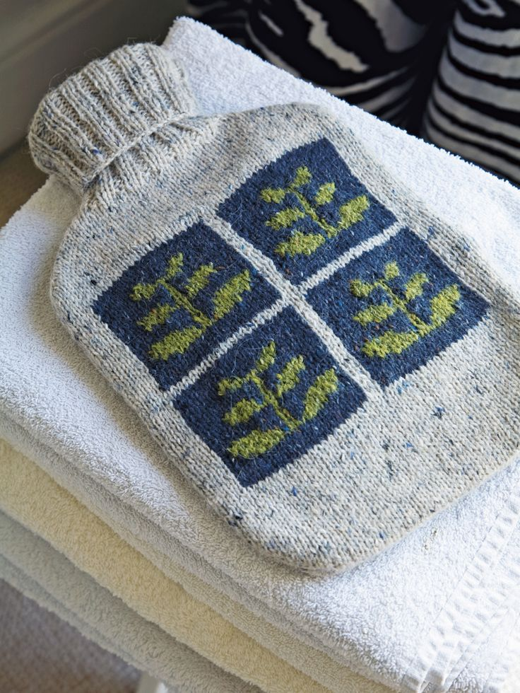 Spring Hot Water Bottle Cover