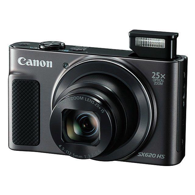 Canon PowerShot SX620 #Canon #Nuevo #Lanzamiento #camara #PowerShotSX620 #fotografiadeviajes #TravelPhotography #Camera #New #superphotopro  La Canon PowerShot SX620 está diseñada para el viajero casual deportivo y fotógrafos en generales cuenta con un zoom óptico de 25x que se empareja con estabilizador óptico de imagen. La cámara tiene un sensor de 20MP CMOS y un procesador de imagen DIGIG 4 que funciona muy bien en condiciones de poca luz.  Características principales:  Sensor CMOS de…