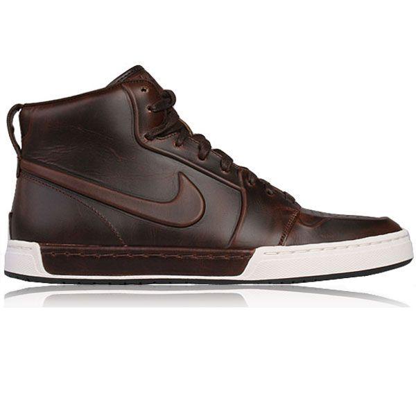 Nike mid top, premium leather