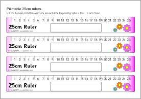 Printable rulers - cm only (SB4366) - SparkleBox