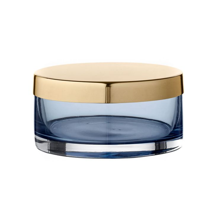 top3 by design - AYTM - tota small cylinder with lid navy brass