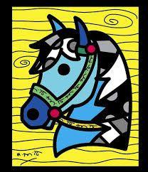 Resultado de imagen para romero britto caballos
