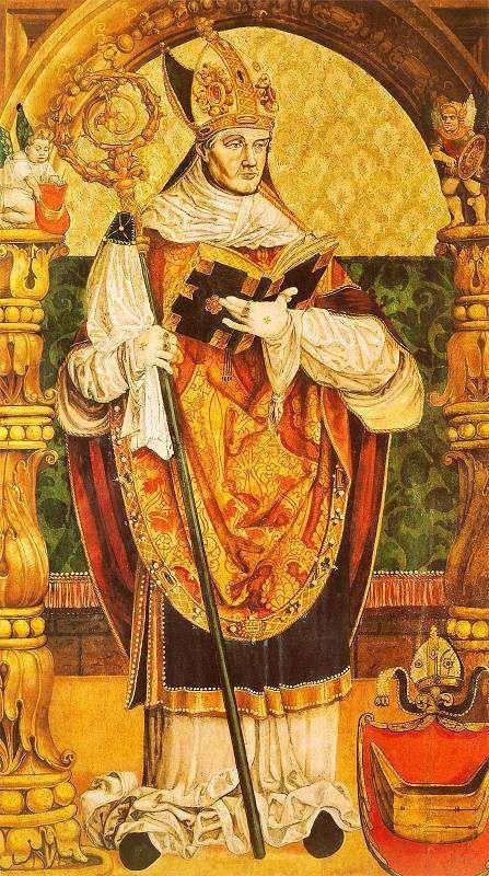 Portret bp. Tomickiego w krużgankach zakonu franciszkanów w Krakowie, Stanisław Samostrzelnik