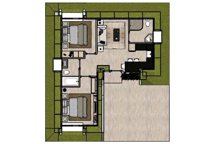Capri 2 Bedrooms Green Magic Homes Green Magic Homes Green Magic Passive Solar Design