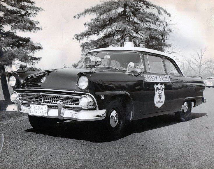 Baltimore, MD PD 1956 Ford Safety Patrol Car