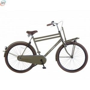 """Popal Urban Militær Grønn - 3 Gir - 28"""" - 57 Cm - Herresykkel - Dutch Bike kr 5 920,00"""