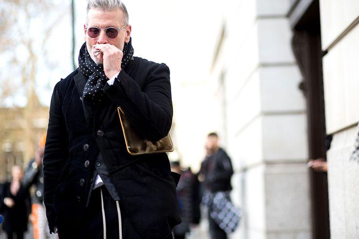 ¡Es turno de ellos! @TheUrbanSpotter captura lo mejor del #StreetStyle de #LCM #VogueHombre http://buff.ly/1DCeBal