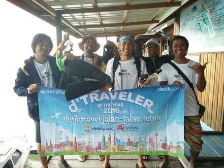 Walau Hujan, D'Traveler 2016 Tetap Semangat Hoping Island Di Derawan - http://darwinchai.com/traveling/walau-hujan-dtraveler-2016-tetap-semangat-hoping-island-di-derawan/