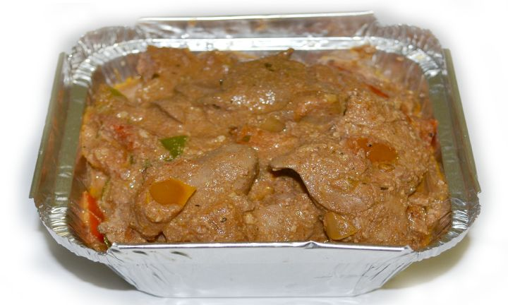 Banting chicken livers