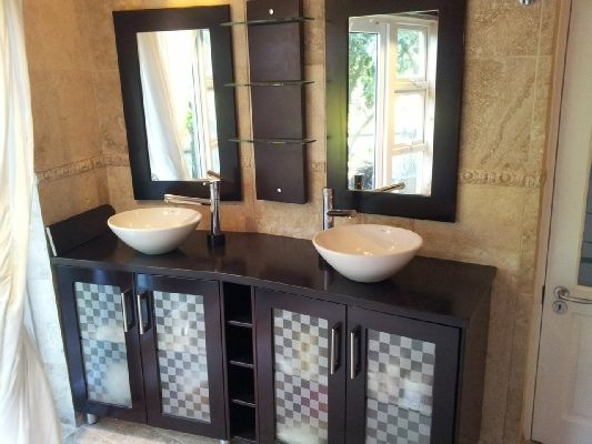 His and Hers gorgeous bathroom sinks by RenoFix, Cape Town <3
