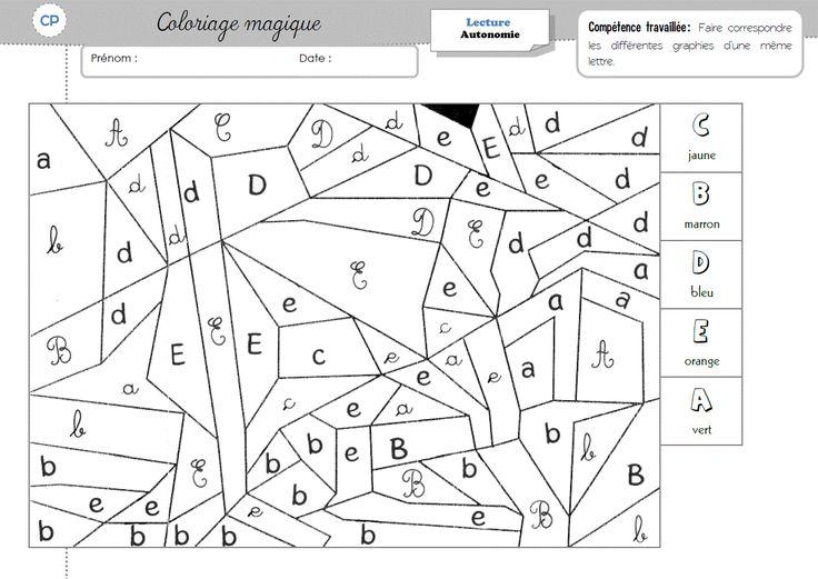 Sons Coloriage Magique Cp Lecture.Dessin Colorier Magique Cp Voyelles Coloriage Magique Cp Et
