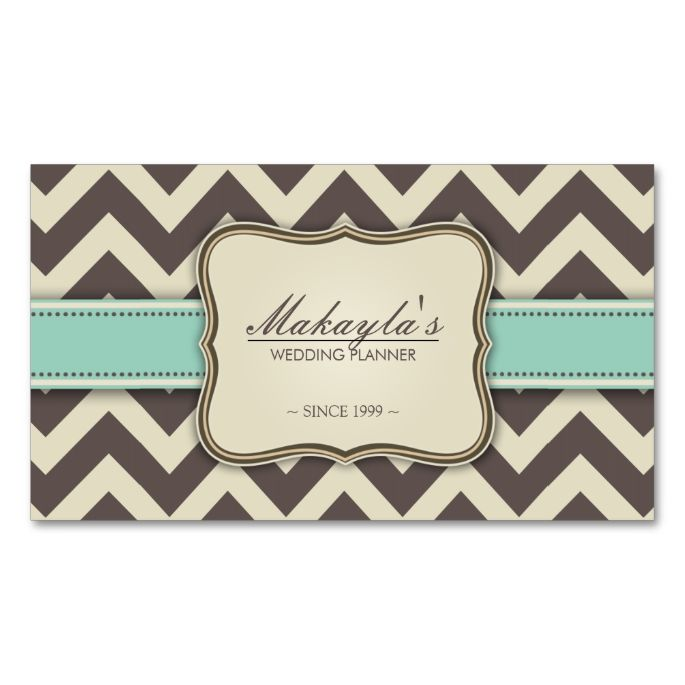 78 Best images about Chevron Zigzag Business Cards on Pinterest ...