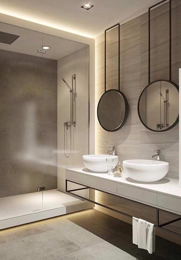 Badezimmerkeramik: Komplette visuelle Anleitung, um sich inspirieren zu lassen