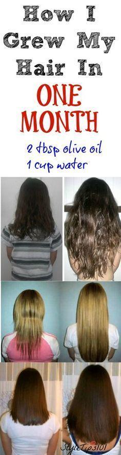 grow long healthy hair