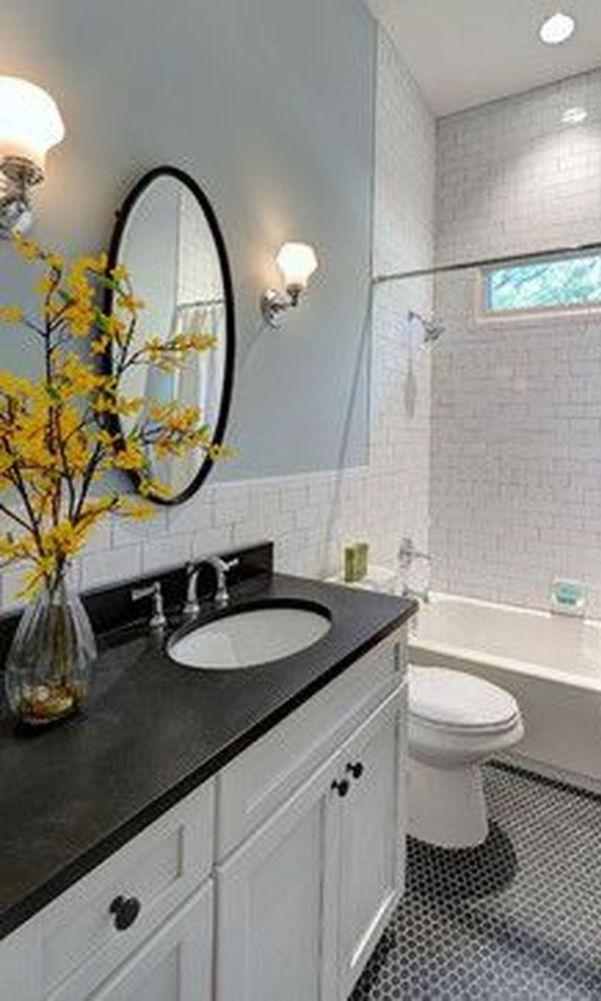 60 Beautiful Gray Bathroom Ideas With Stylish Color Combinations 2020 Part 31 Traditional Bathroom White Bathroom Tiles Minimalist Bathroom