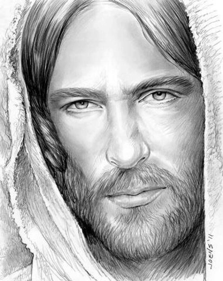 черный и белый картинки карандашом от иисуса того, установка