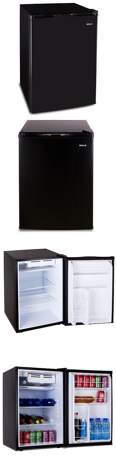 appliances: Mini Small Refrigerator Black Compact Fridge Freezer Dorm Cooler 4.5 Cu. Ft. -> BUY IT NOW ONLY: $109.97 on eBay!