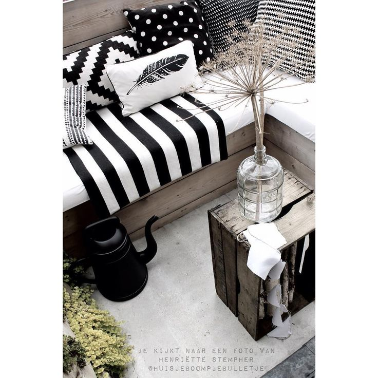 black and white styling