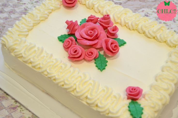 Tarta Clasica de Cumpleaños