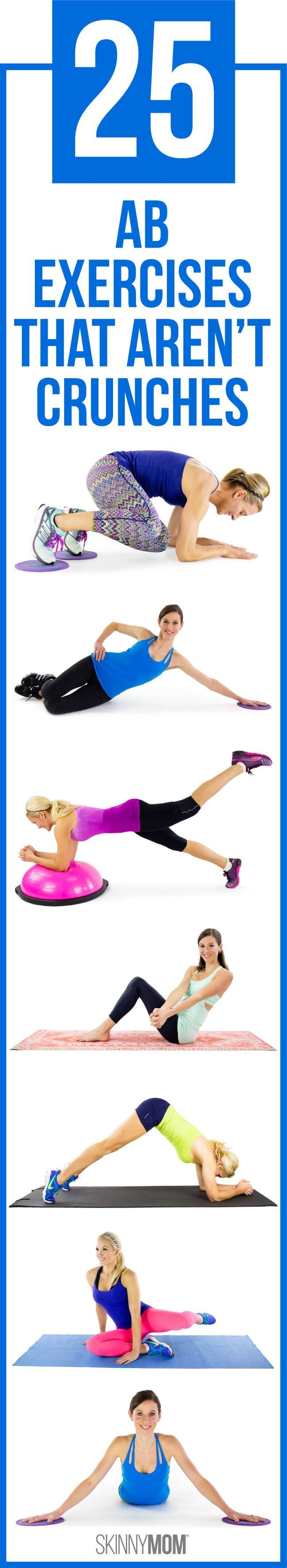Get solid abs with these amazing moves!