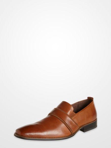 Blair Underwood Brown Slip On Dress Shoes Blair
