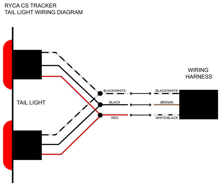 electrical wiring diagrams  wiring harness and stereo jack diagram with tail light  stereo jack