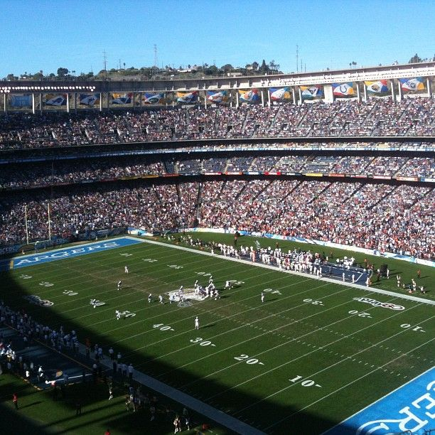 San Diego Chargers Football Field: 17 Best Images About Chargers On Pinterest