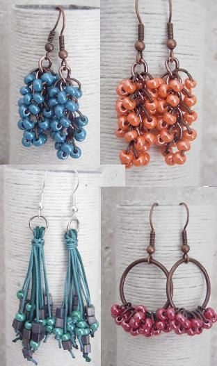 Ideas- Seed Bead Earrings found on anabevm.blogspot.com.es