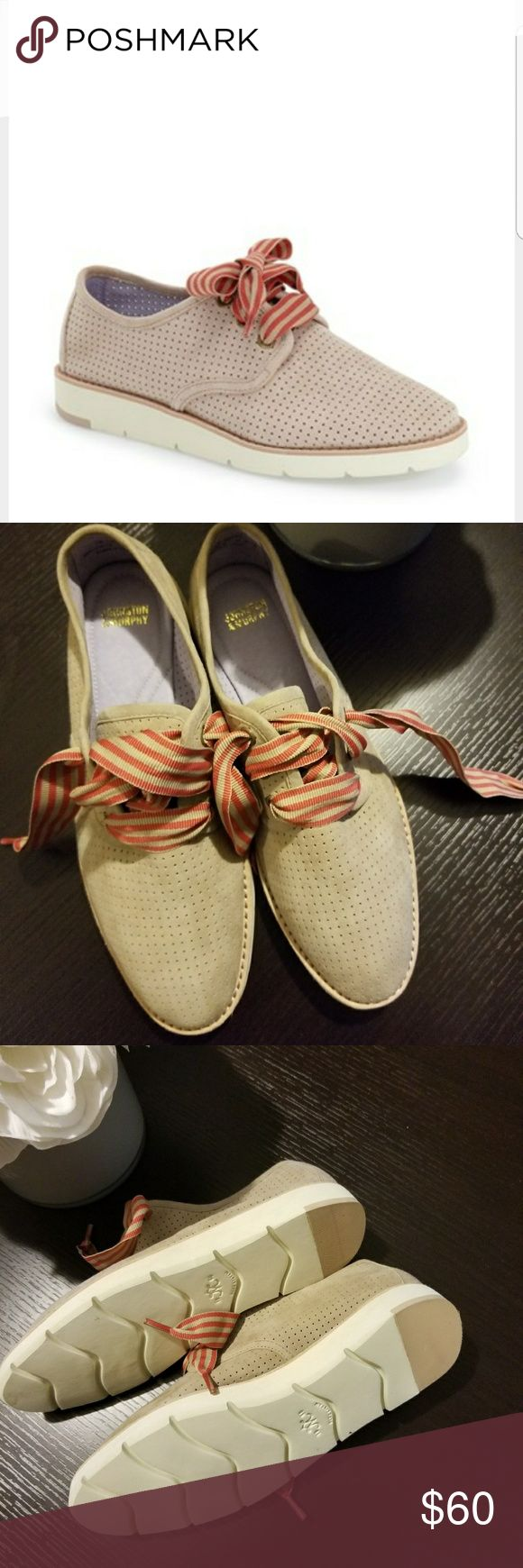 Johnston & Murphy phyllis lace-up Currently sold out in stores and hard to find in this particular style...as you can see these have never been worn but do not come with box..  Feel free to make offers Johnston & Murphy Shoes Flats & Loafers