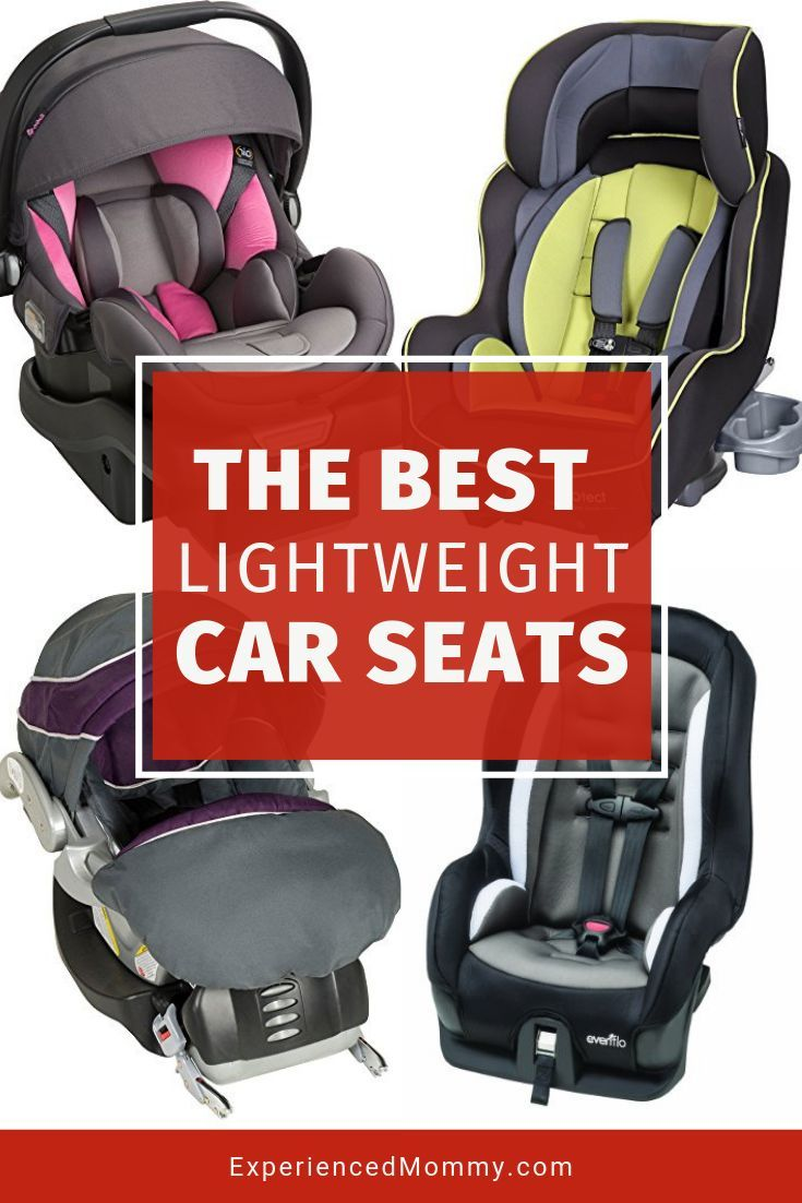 Lightweight Infant and Convertible Car Seats