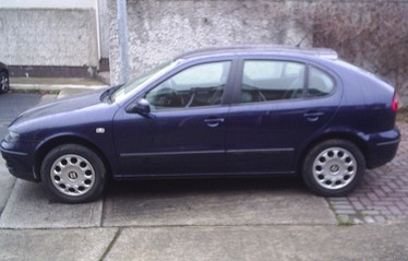 2000 SEAT Leon 1.4 Signo. My second car.